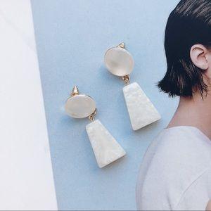 Jewelry - UO Style Triangle Acrylic Drop Earrings